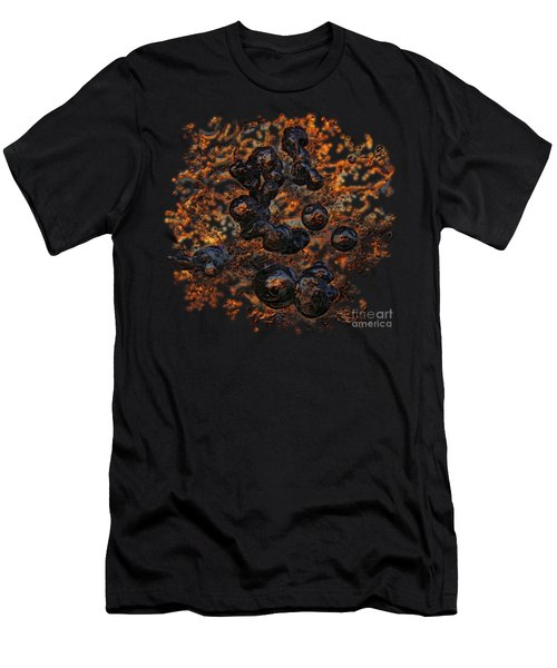 Men's T-Shirt (Athletic Fit) featuring the photograph Volcanic by Sami Tiainen