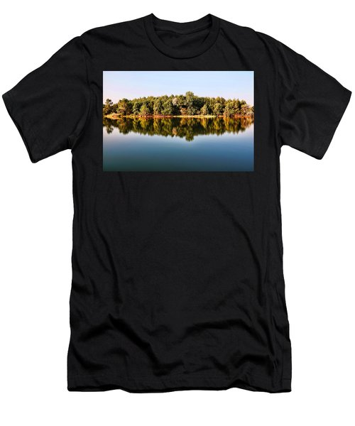 When Nature Reflects Men's T-Shirt (Athletic Fit)