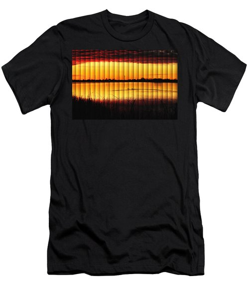 Magnificent Sunrise Swim Men's T-Shirt (Athletic Fit)