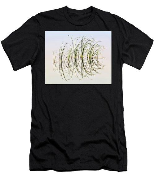 Graceful Grass Men's T-Shirt (Slim Fit) by Bill Kesler