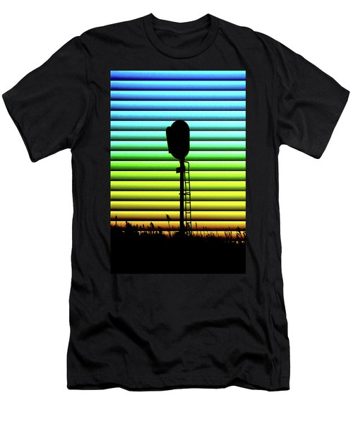 Signal At Dusk Men's T-Shirt (Athletic Fit)