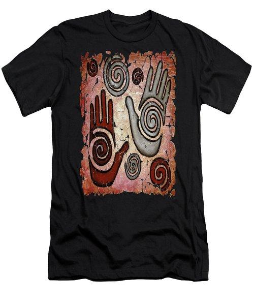 Healing Hands Fresco Men's T-Shirt (Athletic Fit)