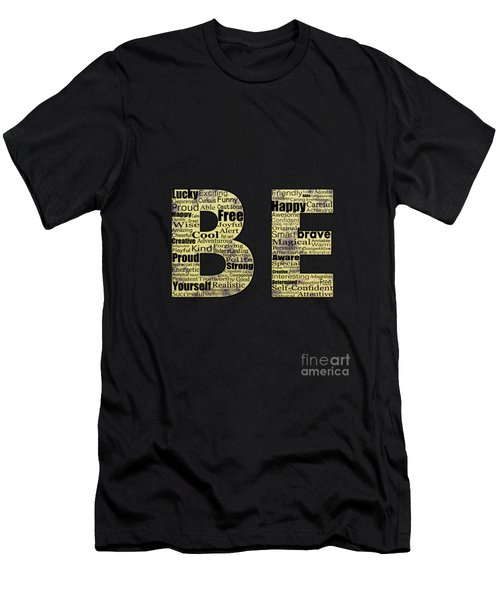 Be Inspired Men's T-Shirt (Athletic Fit)