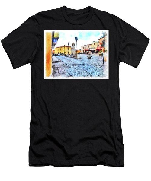 Arzachena Risorgimento Square Men's T-Shirt (Athletic Fit)