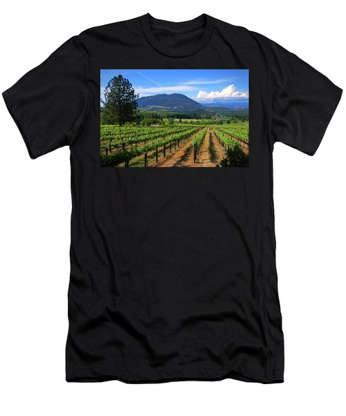 Men's T-Shirt (Athletic Fit) featuring the photograph As Far As The Eye Can See by Skip Hunt