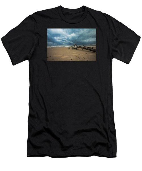 Ashdod Seascape Men's T-Shirt (Athletic Fit)