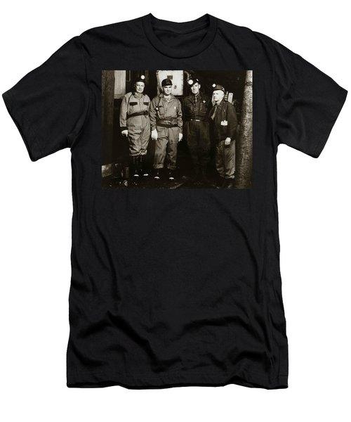 Ashley Pa  Glen Alden Coal Co  Huber Coal Breaker 1962 Men's T-Shirt (Athletic Fit)
