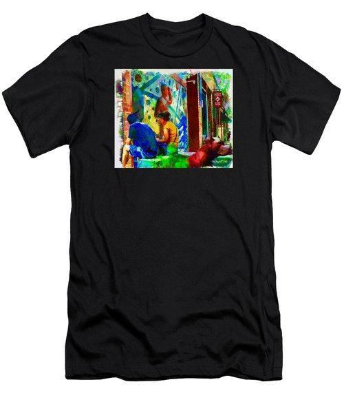 Ashville Art District Men's T-Shirt (Athletic Fit)