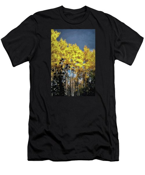 Men's T-Shirt (Slim Fit) featuring the photograph Aspen Impressions by Jim Hill