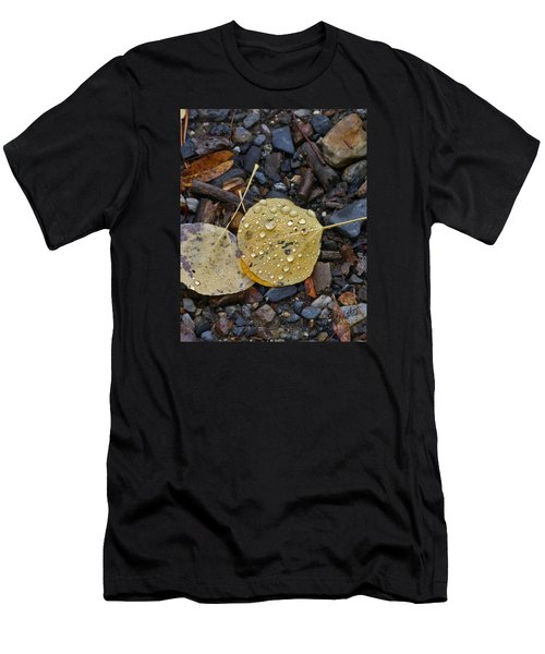 Aspen Leaf Men's T-Shirt (Athletic Fit)