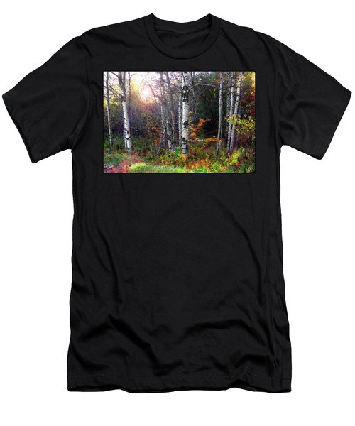 Men's T-Shirt (Athletic Fit) featuring the photograph Aspen Morning by Wayne King