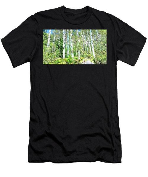 Aspen Splender Steamboat Springs Men's T-Shirt (Athletic Fit)