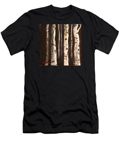 Aspen Stand Men's T-Shirt (Athletic Fit)