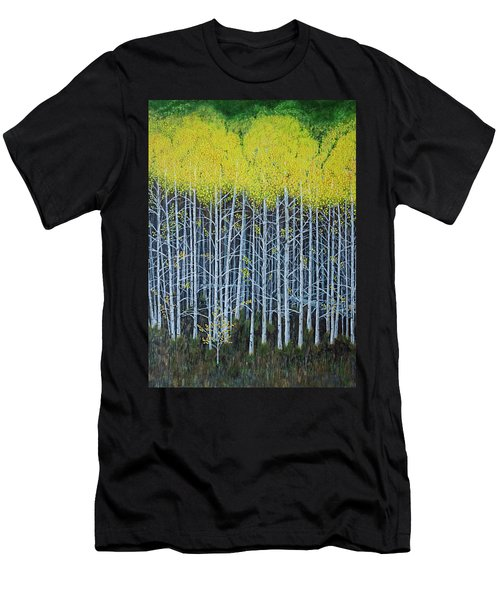 Aspen Stand The Painting Men's T-Shirt (Athletic Fit)