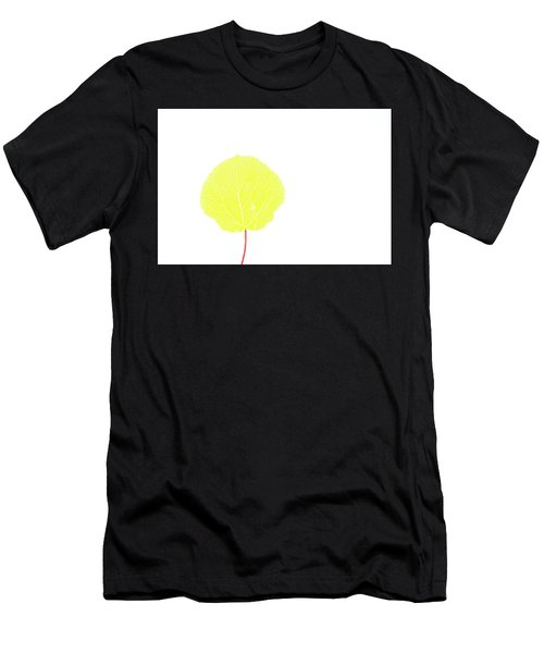Aspen Yellow Men's T-Shirt (Athletic Fit)