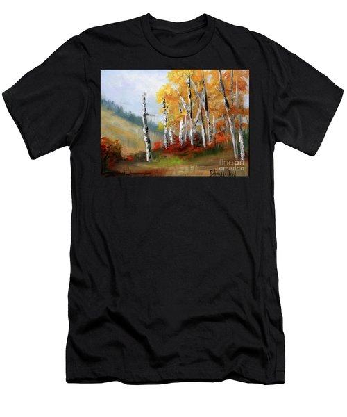 Aspens En Plein Air Men's T-Shirt (Athletic Fit)