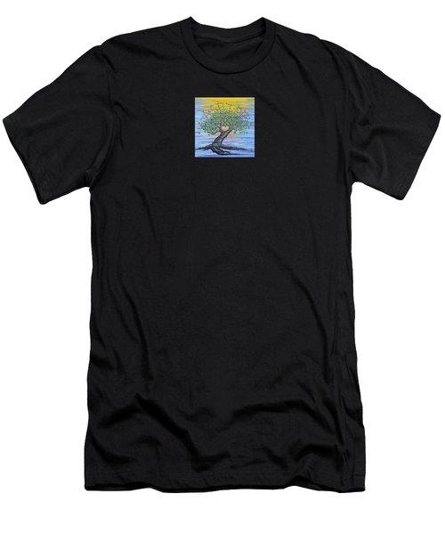 Aspire Love Tree Men's T-Shirt (Athletic Fit)