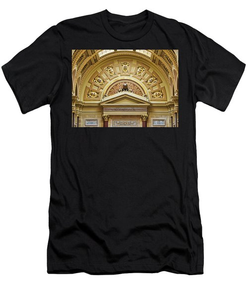 Assembly Entrance - Capitol - Madison - Wisconsin Men's T-Shirt (Athletic Fit)