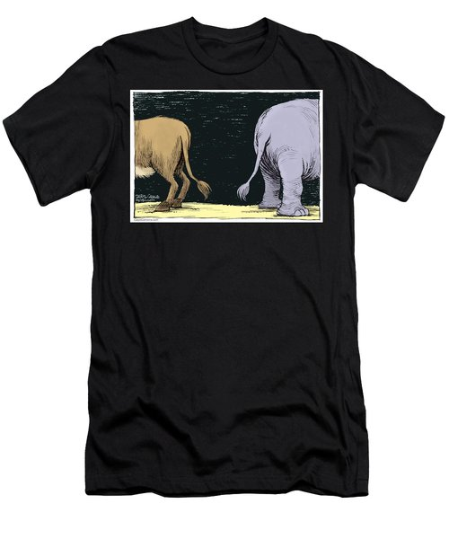 Asses Men's T-Shirt (Athletic Fit)
