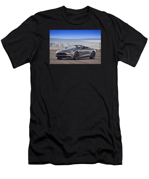 Aston Vanquish Convertible Men's T-Shirt (Athletic Fit)