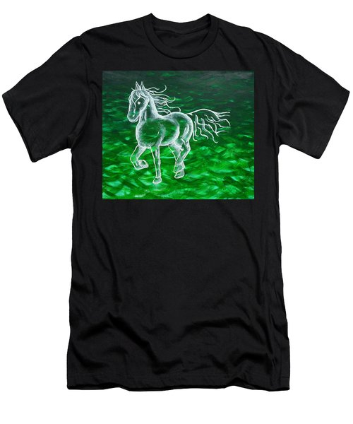 Astral Horse Men's T-Shirt (Athletic Fit)
