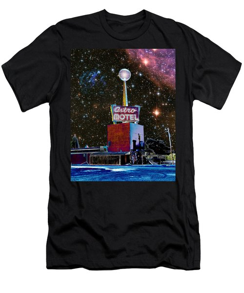 Men's T-Shirt (Slim Fit) featuring the photograph Astro Motel by Jim and Emily Bush
