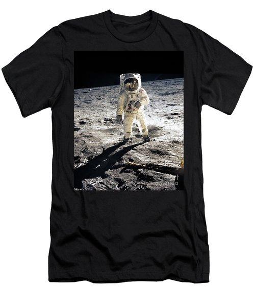 Astronaut Men's T-Shirt (Slim Fit) by Photo Researchers