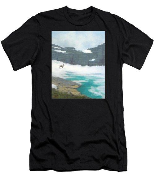 At Grinnell Glacier Men's T-Shirt (Athletic Fit)