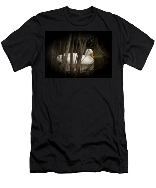 At Home In The Creek Men's T-Shirt (Athletic Fit)