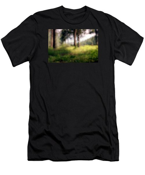 At Menashe Forest Men's T-Shirt (Slim Fit) by Dubi Roman
