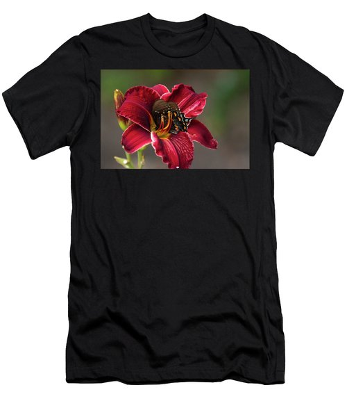 At One With The Orchid Men's T-Shirt (Athletic Fit)