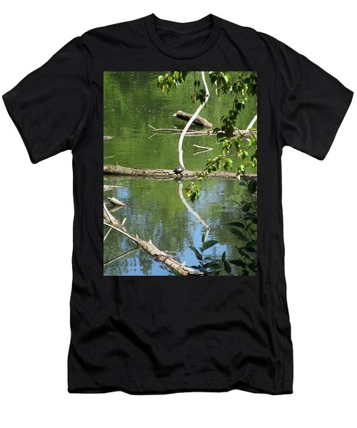 At The Crossroads Men's T-Shirt (Athletic Fit)