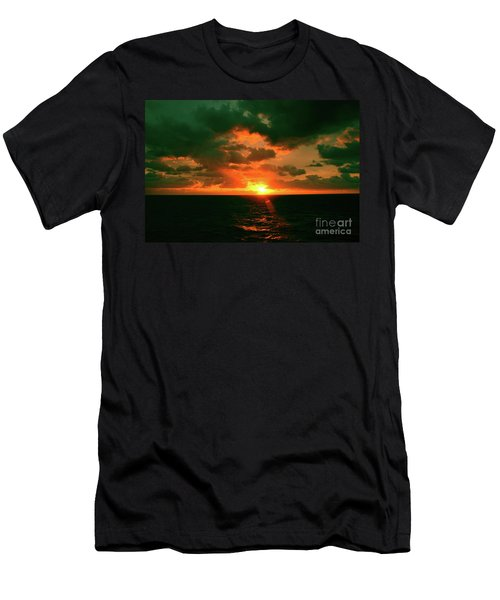 At The Edge Of Night Men's T-Shirt (Athletic Fit)