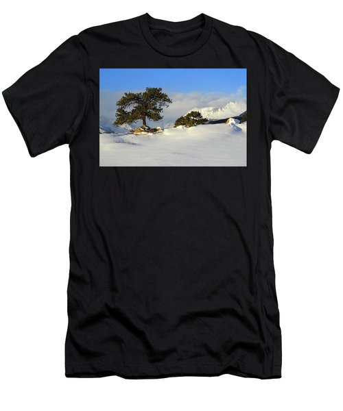 At The Peak Men's T-Shirt (Athletic Fit)