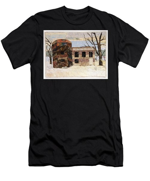 At The River's Edge Men's T-Shirt (Athletic Fit)