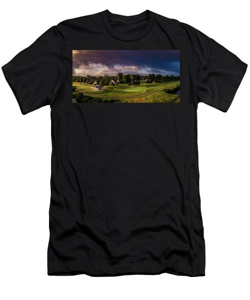 At The Turn Men's T-Shirt (Athletic Fit)