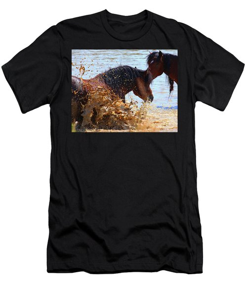 At The Watering Hole Men's T-Shirt (Athletic Fit)