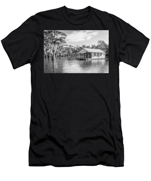 Atchafalaya Basin Fishing Camp Men's T-Shirt (Athletic Fit)