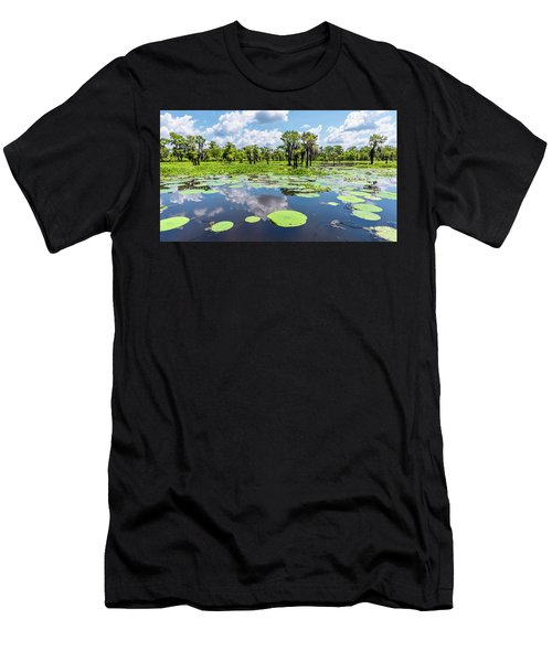 Atchaflaya Basin Reflection Pool Men's T-Shirt (Athletic Fit)