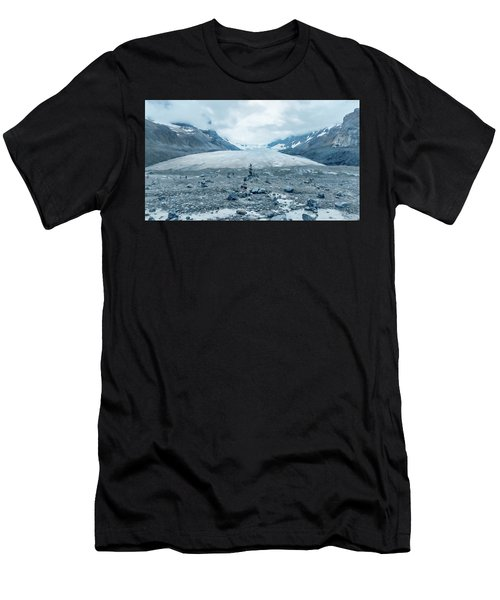 Athabasca Glacier Vanishing Act Men's T-Shirt (Athletic Fit)