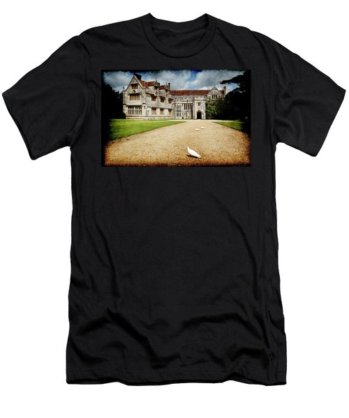 Men's T-Shirt (Athletic Fit) featuring the photograph Athelhamptom Manor House by Jennifer Wright