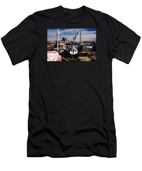 Athena Men's T-Shirt (Slim Fit) by David Blank