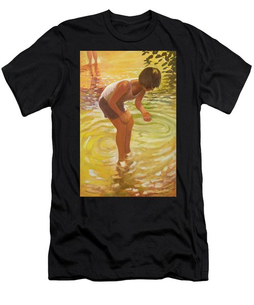 Athena Wading Men's T-Shirt (Athletic Fit)
