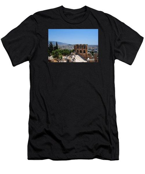 Athens Men's T-Shirt (Slim Fit) by Robert Moss