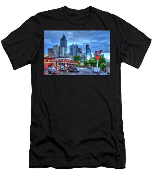 Atlanta Landmark The Varsity Art Men's T-Shirt (Athletic Fit)
