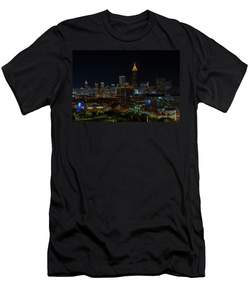 Atlanta Nights Men's T-Shirt (Athletic Fit)