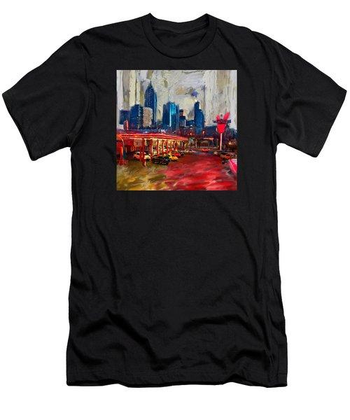 Atlanta Skyline 231 1 Men's T-Shirt (Athletic Fit)