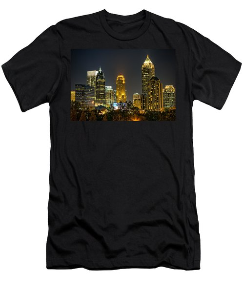 Atlanta Skyscrapers  Men's T-Shirt (Athletic Fit)