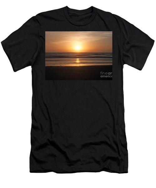 Men's T-Shirt (Slim Fit) featuring the photograph Atlantic Sunrise by Marion Johnson