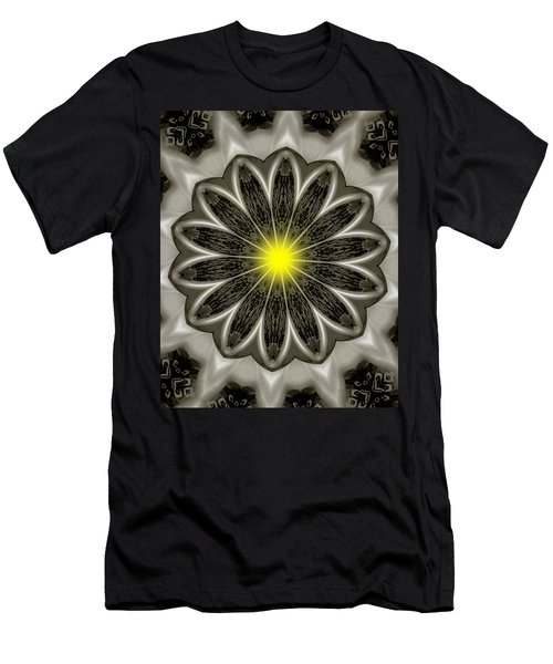 Atomic Lotus No. 2 Men's T-Shirt (Athletic Fit)